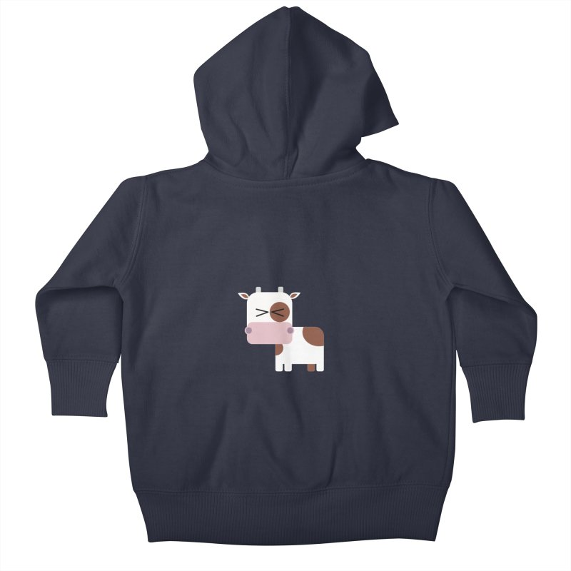 Little cow Kids Baby Zip-Up Hoody by Yellow Studio · the Shop!