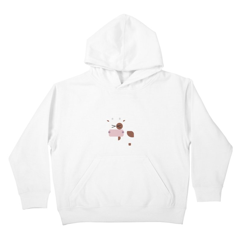 Little cow Kids Pullover Hoody by Yellow Studio · the Shop!