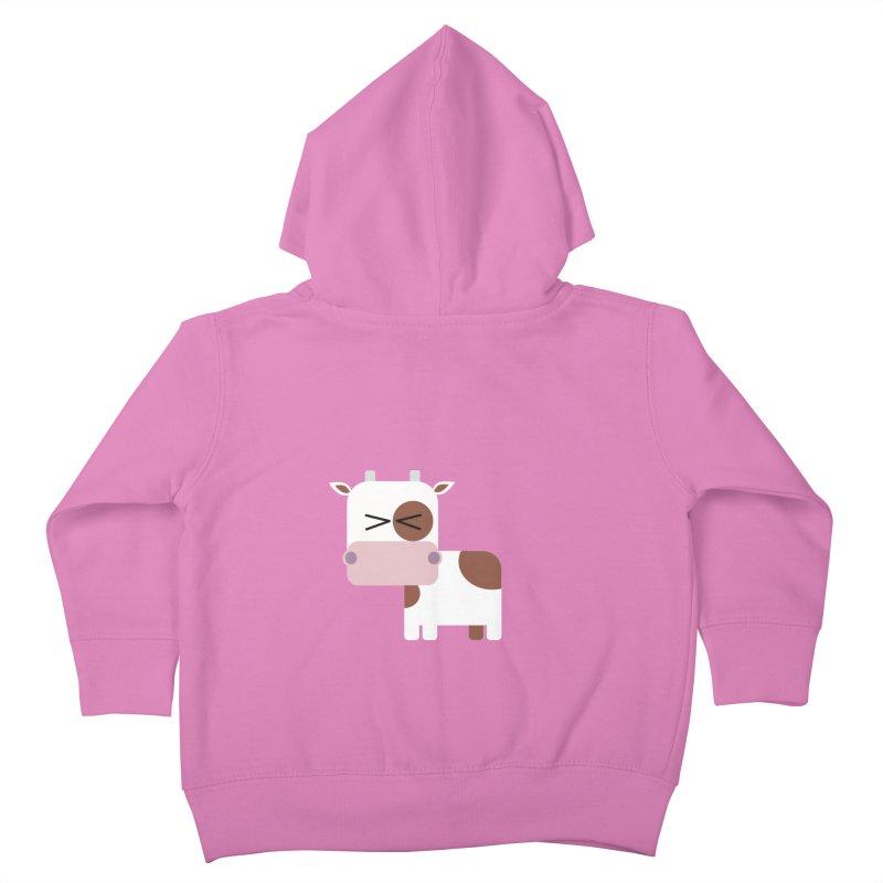 Little cow Kids Toddler Zip-Up Hoody by Yellow Studio · the Shop!
