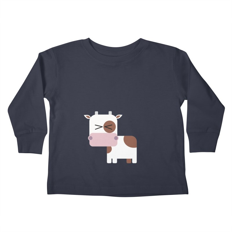 Little cow Kids Toddler Longsleeve T-Shirt by Yellow Studio · the Shop!