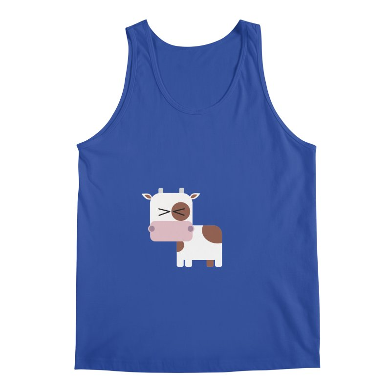 Little cow Men's Regular Tank by Yellow Studio · the Shop!