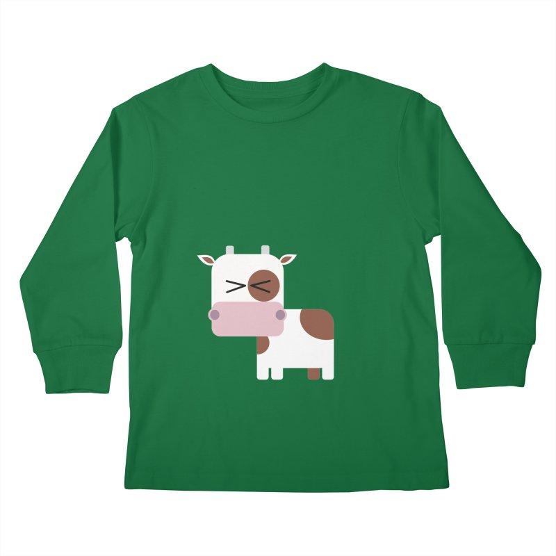 Little cow Kids Longsleeve T-Shirt by Yellow Studio · the Shop!