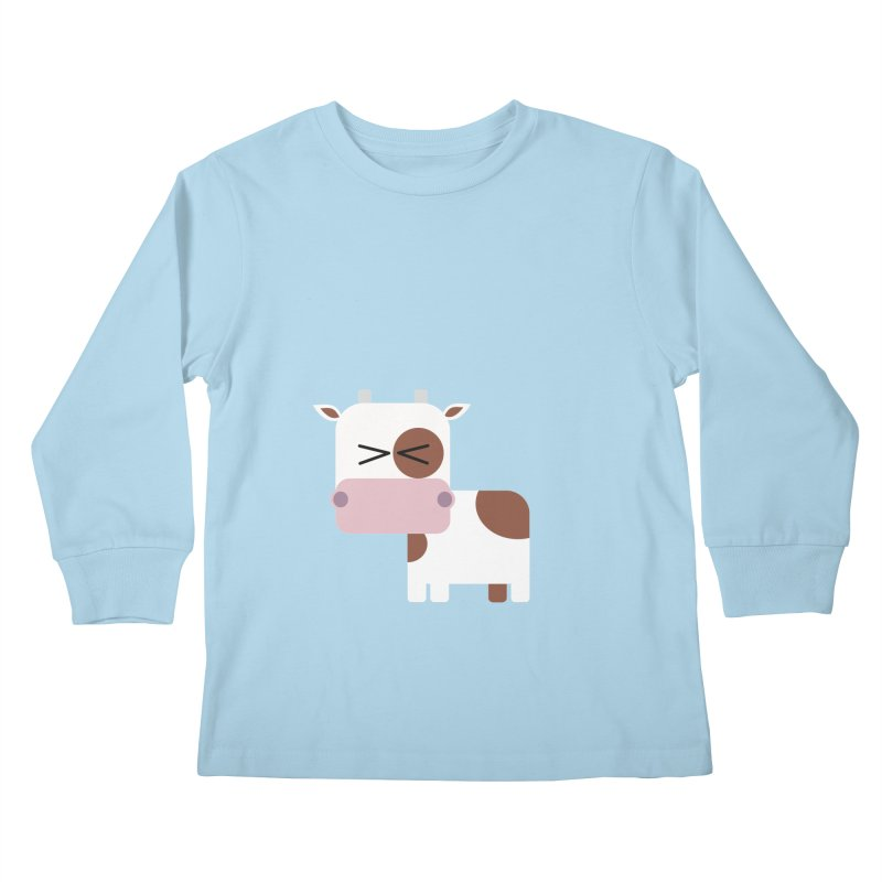 Little cow Kids Longsleeve T-Shirt by Yellow Studio · the Shop!