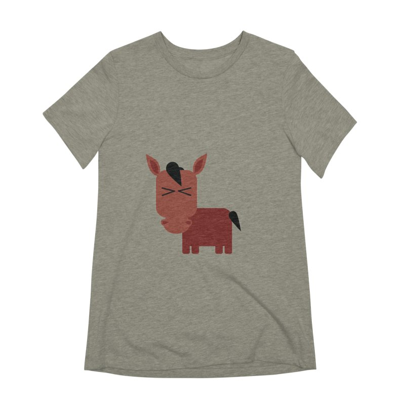 Little horse Women's Extra Soft T-Shirt by Yellow Studio · the Shop!