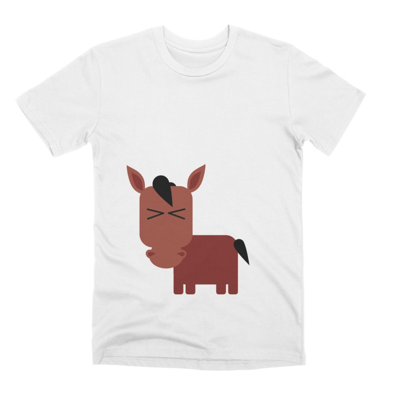 Little horse Men's Premium T-Shirt by Yellow Studio · the Shop!