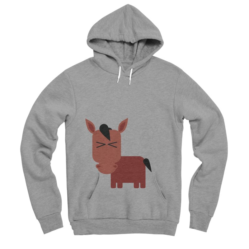 Little horse Men's Sponge Fleece Pullover Hoody by Yellow Studio · the Shop!