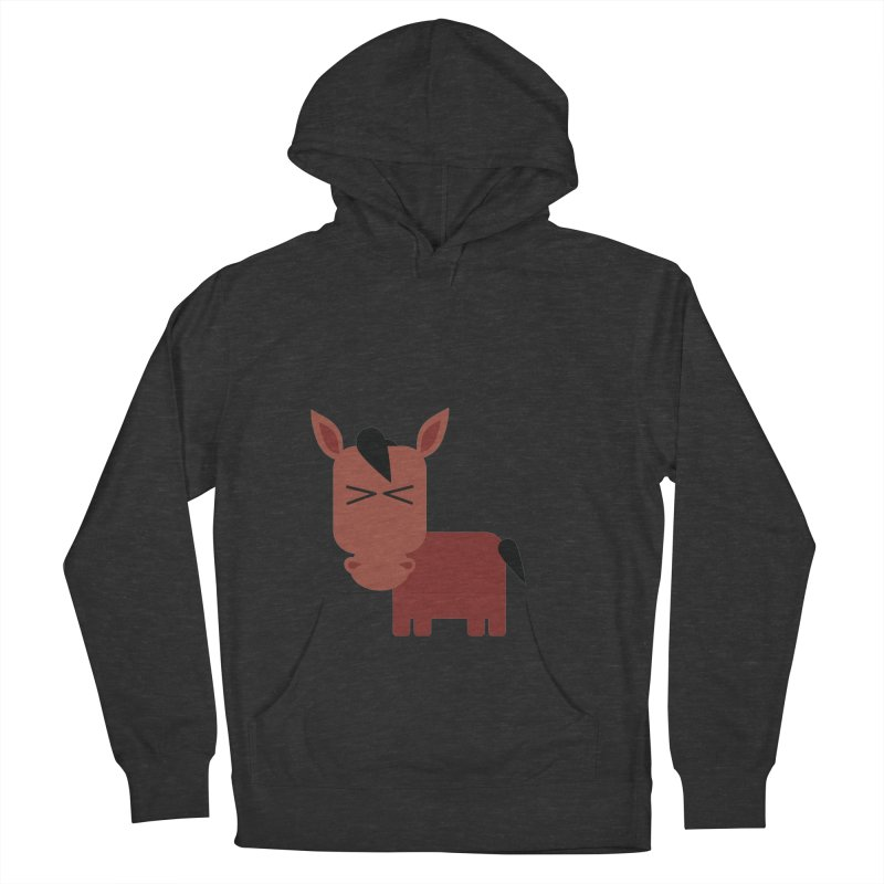 Little horse Women's French Terry Pullover Hoody by Yellow Studio · the Shop!