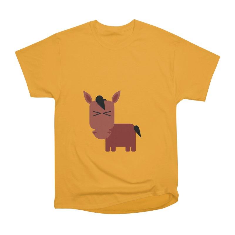 Little horse Men's Heavyweight T-Shirt by Yellow Studio · the Shop!