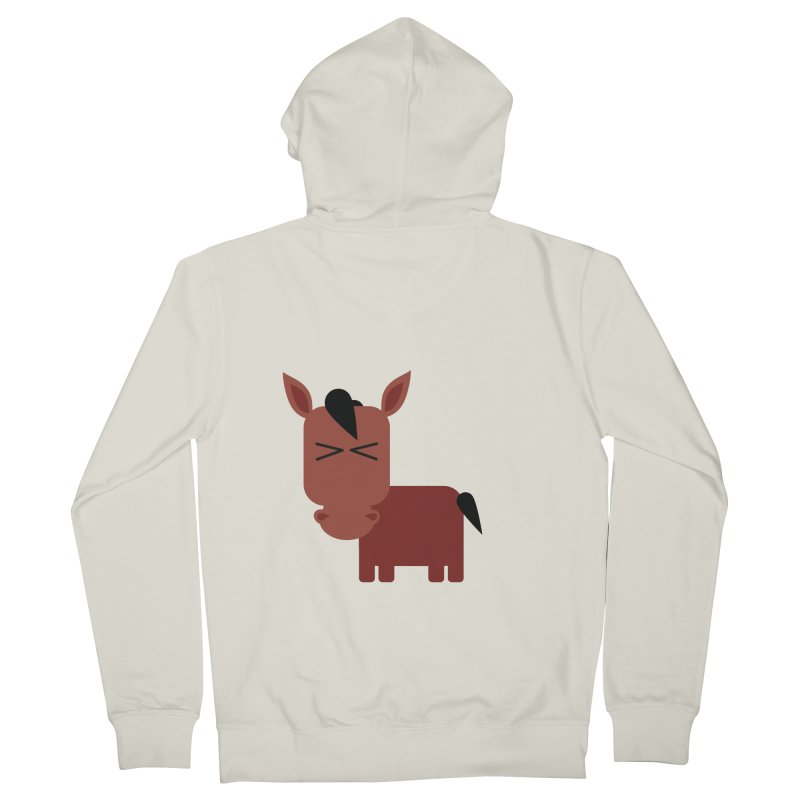 Little horse Women's French Terry Zip-Up Hoody by Yellow Studio · the Shop!