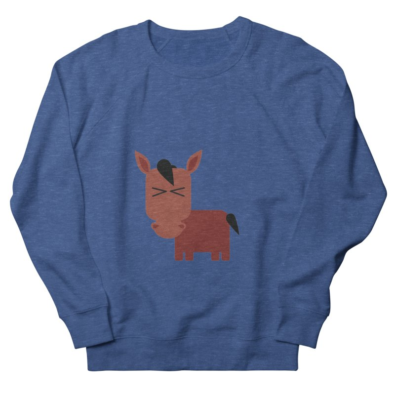 Little horse Women's French Terry Sweatshirt by Yellow Studio · the Shop!