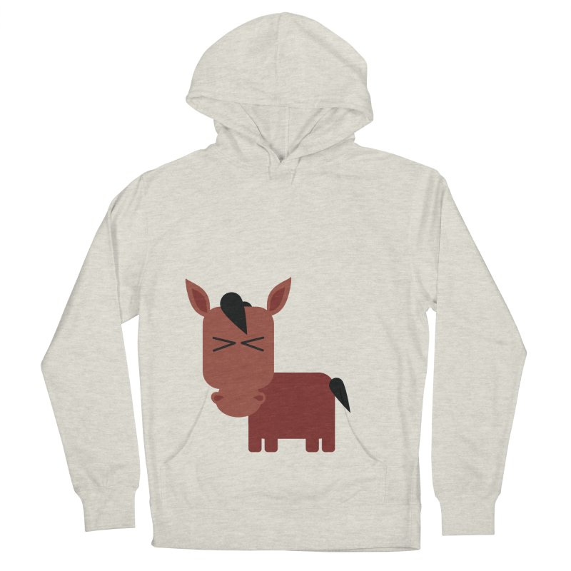 Little horse Men's French Terry Pullover Hoody by Yellow Studio · the Shop!