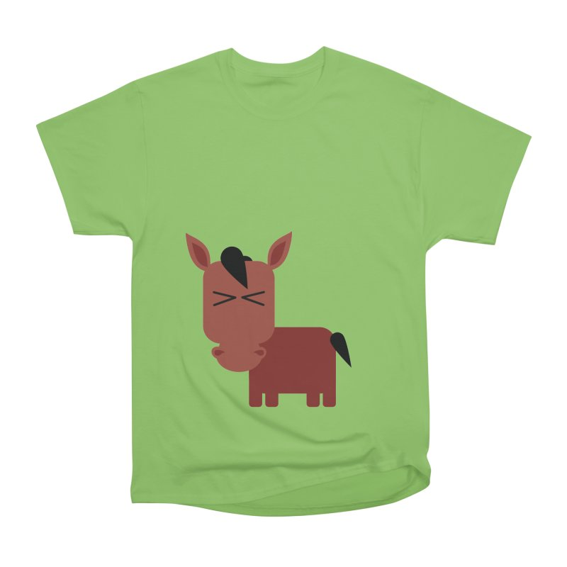 Little horse Men's Heavyweight T-Shirt by Yellow Studio · the Shop!