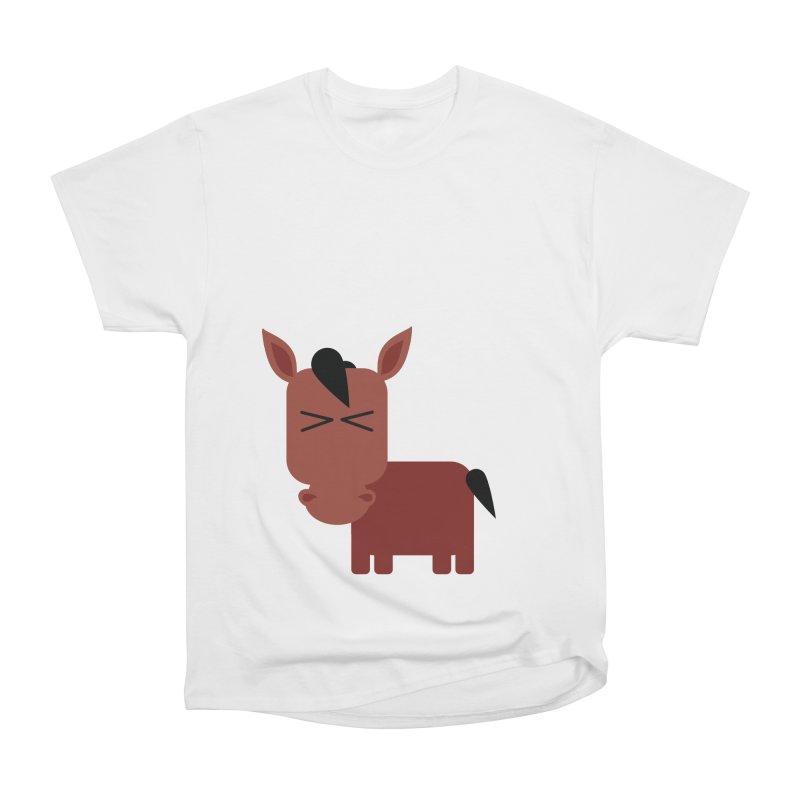 Little horse Women's Heavyweight Unisex T-Shirt by Yellow Studio · the Shop!