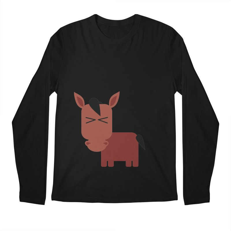 Little horse Men's Regular Longsleeve T-Shirt by Yellow Studio · the Shop!