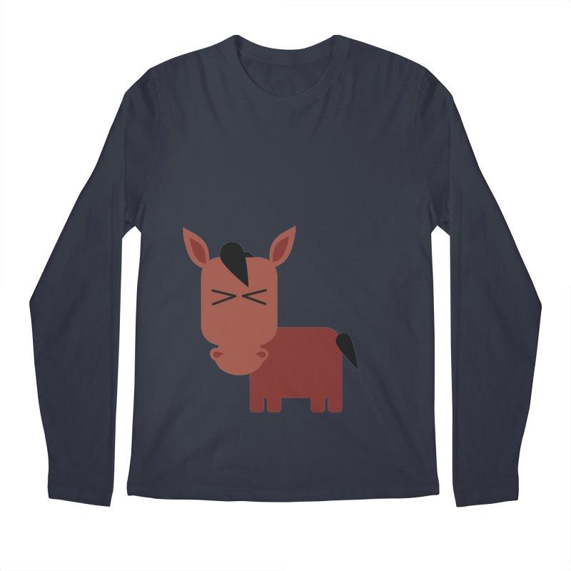 Little horse Men's Regular Longsleeve T-Shirt by Yellow Studio · the Shop!