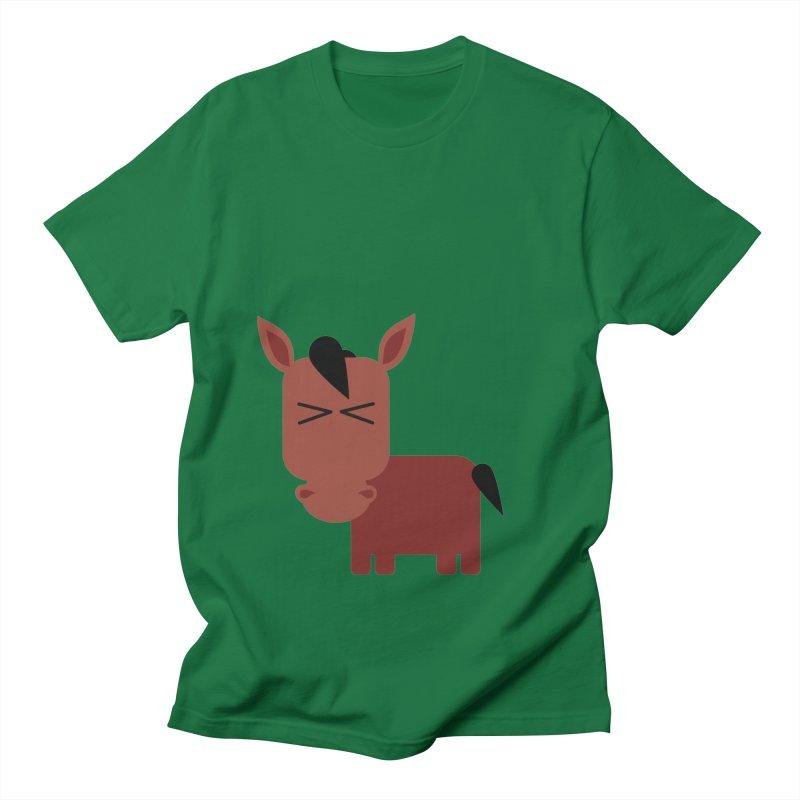 Little horse Women's Regular Unisex T-Shirt by Yellow Studio · the Shop!