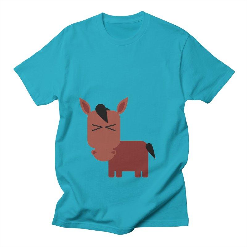 Little horse Men's Regular T-Shirt by Yellow Studio · the Shop!