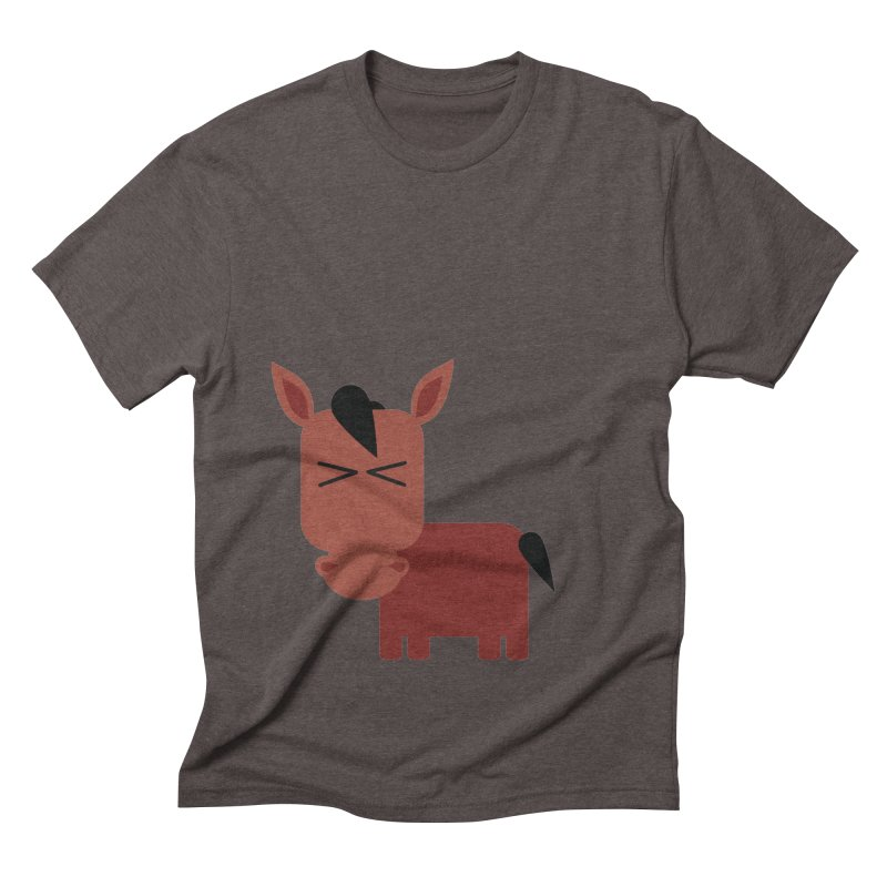 Little horse Men's Triblend T-Shirt by Yellow Studio · the Shop!