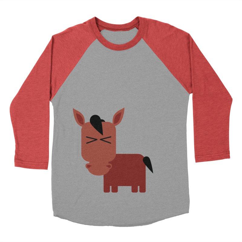 Little horse Women's Baseball Triblend Longsleeve T-Shirt by Yellow Studio · the Shop!