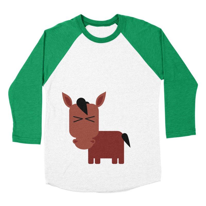 Little horse Men's Baseball Triblend Longsleeve T-Shirt by Yellow Studio · the Shop!