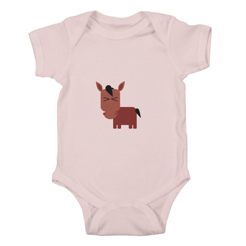 Little horse Kids Baby Bodysuit by Yellow Studio · the Shop!