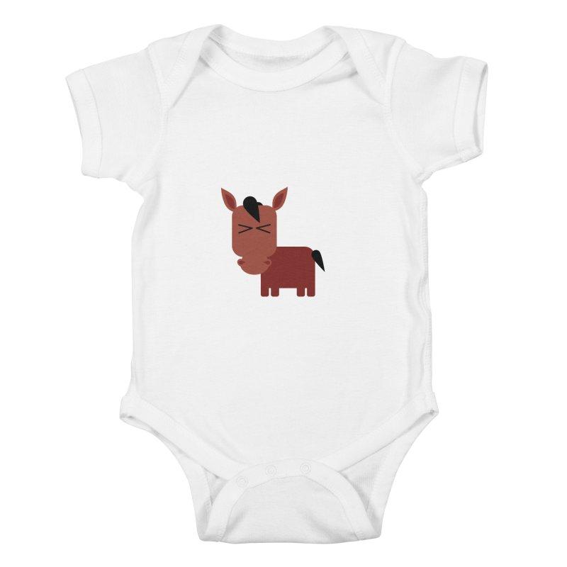 Little horse Kids Baby Bodysuit by Yellow Studio · the Shop!