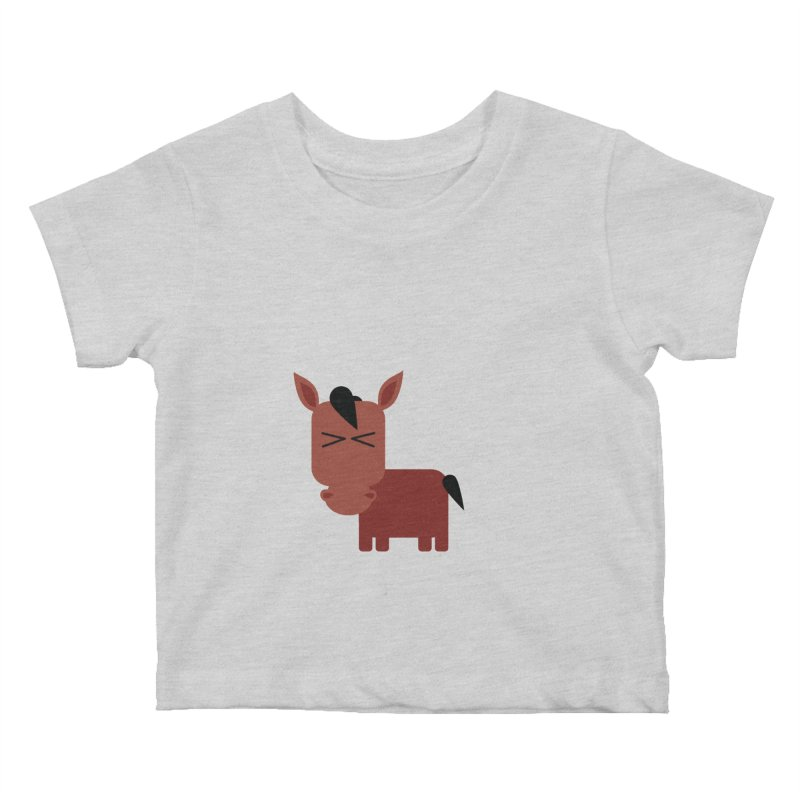 Little horse Kids Baby T-Shirt by Yellow Studio · the Shop!