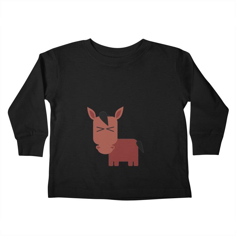 Little horse Kids Toddler Longsleeve T-Shirt by Yellow Studio · the Shop!