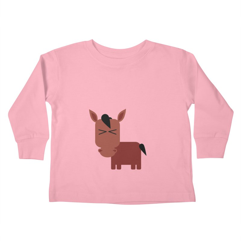 Little horse Kids Toddler Longsleeve T-Shirt by Yellow Studio · the Shop!