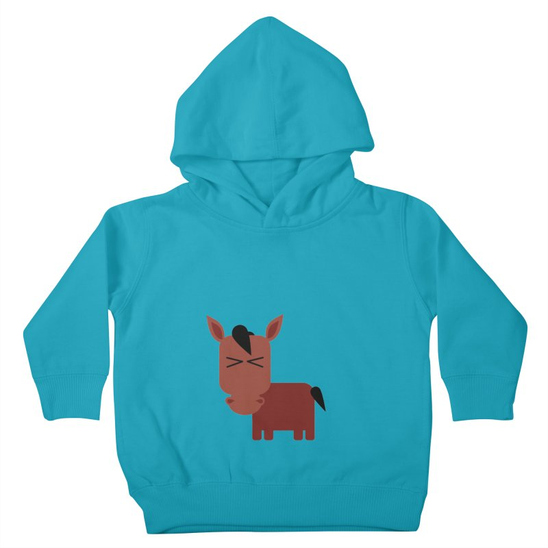 Little horse Kids Toddler Pullover Hoody by Yellow Studio · the Shop!