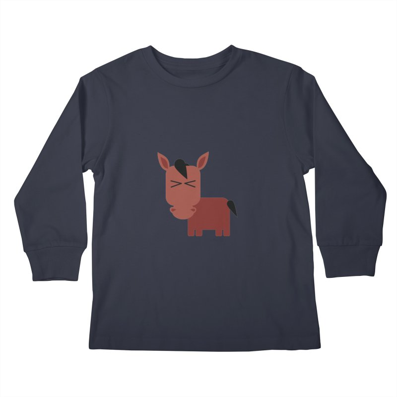 Little horse Kids Longsleeve T-Shirt by Yellow Studio · the Shop!