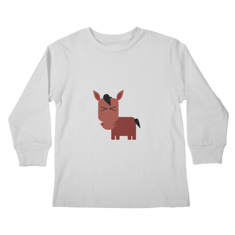 Little horse Kids Longsleeve T-Shirt by Yellow Studio · the Shop!