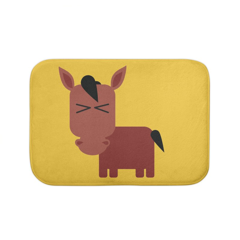 Little horse Home Bath Mat by Yellow Studio · the Shop!