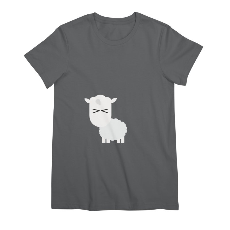 Little lamb Women's Premium T-Shirt by Yellow Studio · the Shop!