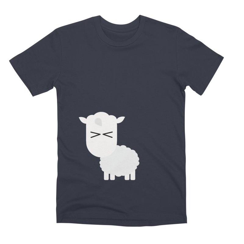 Little lamb Men's Premium T-Shirt by Yellow Studio · the Shop!