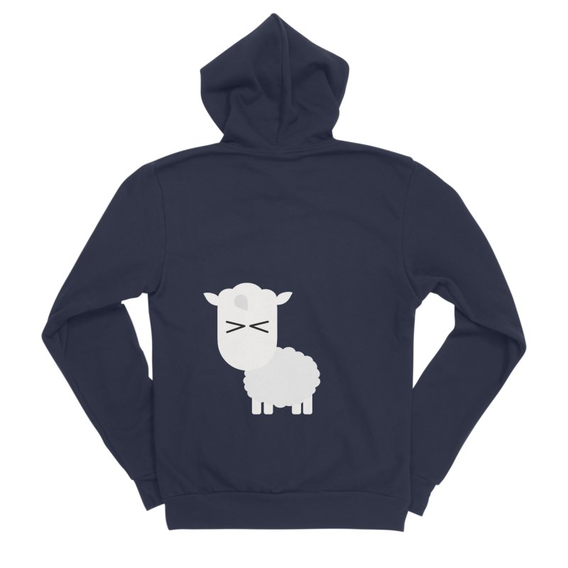 Little lamb Men's Sponge Fleece Zip-Up Hoody by Yellow Studio · the Shop!