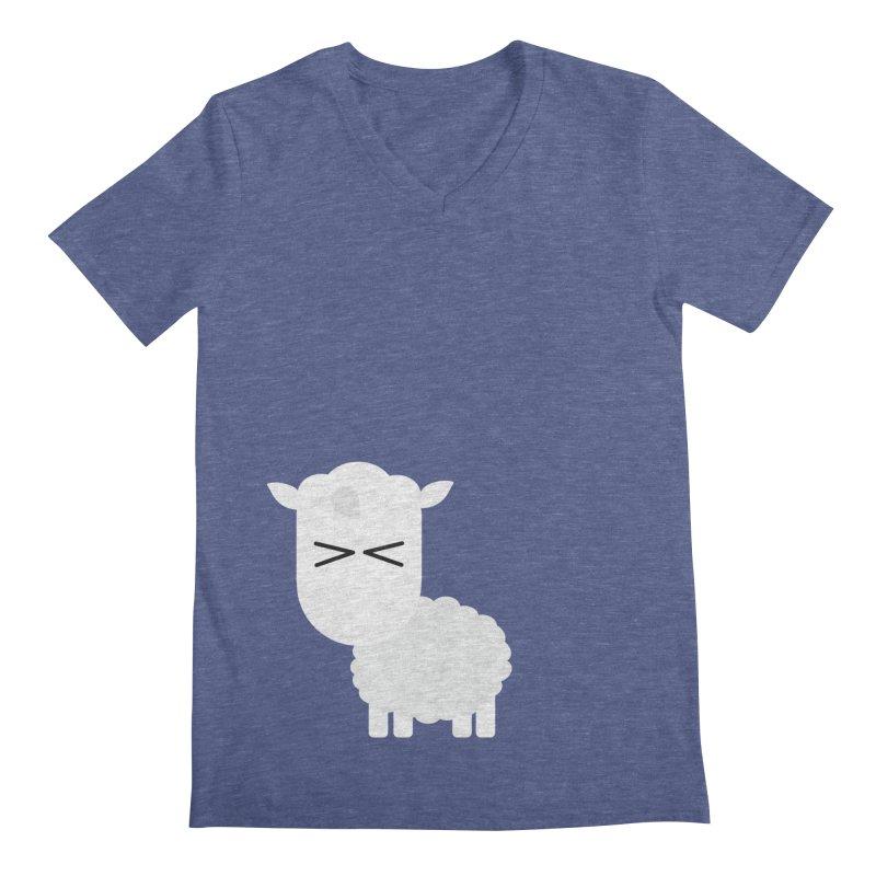 Little lamb Men's Regular V-Neck by Yellow Studio · the Shop!