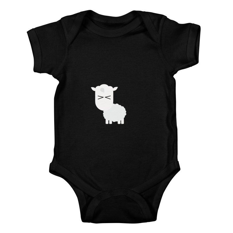Little lamb Kids Baby Bodysuit by Yellow Studio · the Shop!