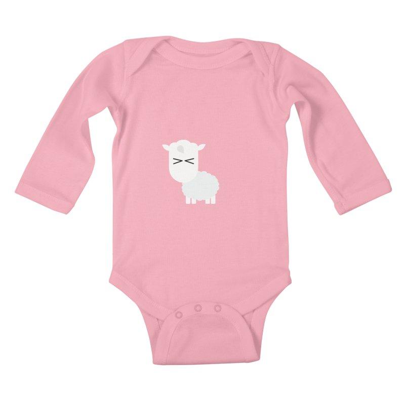 Little lamb Kids Baby Longsleeve Bodysuit by Yellow Studio · the Shop!