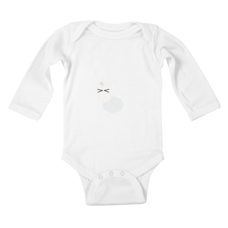 Little lamb Kids Baby Longsleeve Bodysuit by Yellow Studio · the Shop!