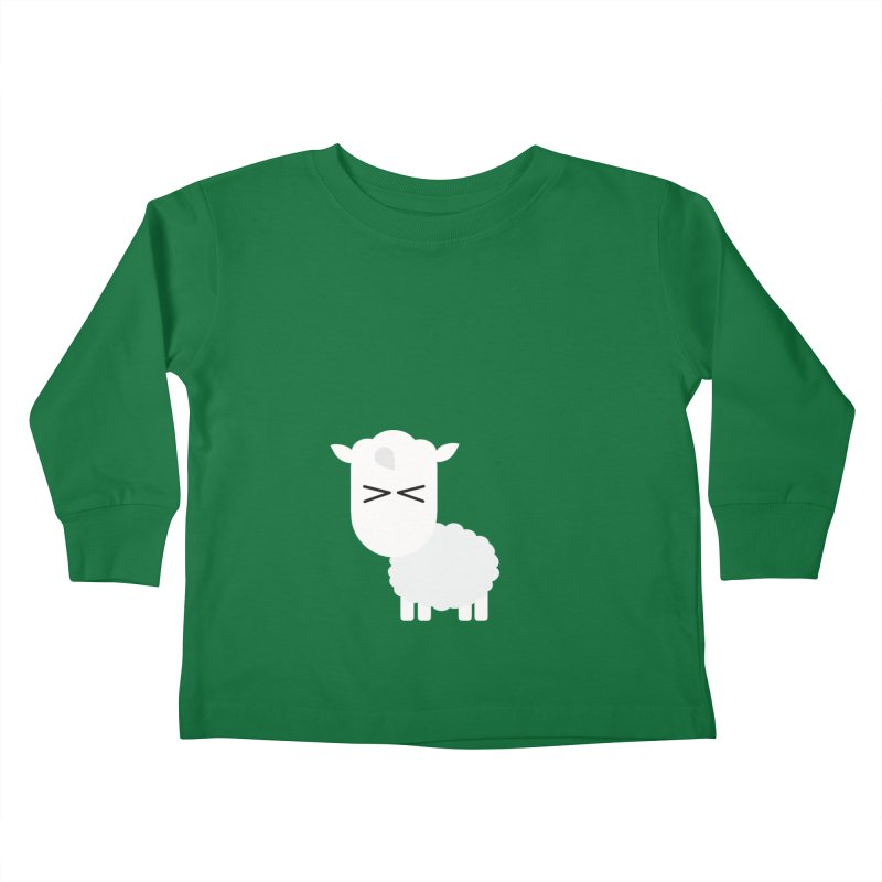 Little lamb Kids Toddler Longsleeve T-Shirt by Yellow Studio · the Shop!
