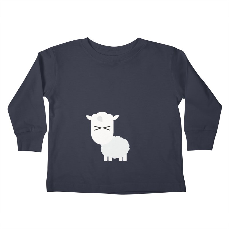 Little lamb Kids Toddler Longsleeve T-Shirt by Yellow Studio · the Shop!