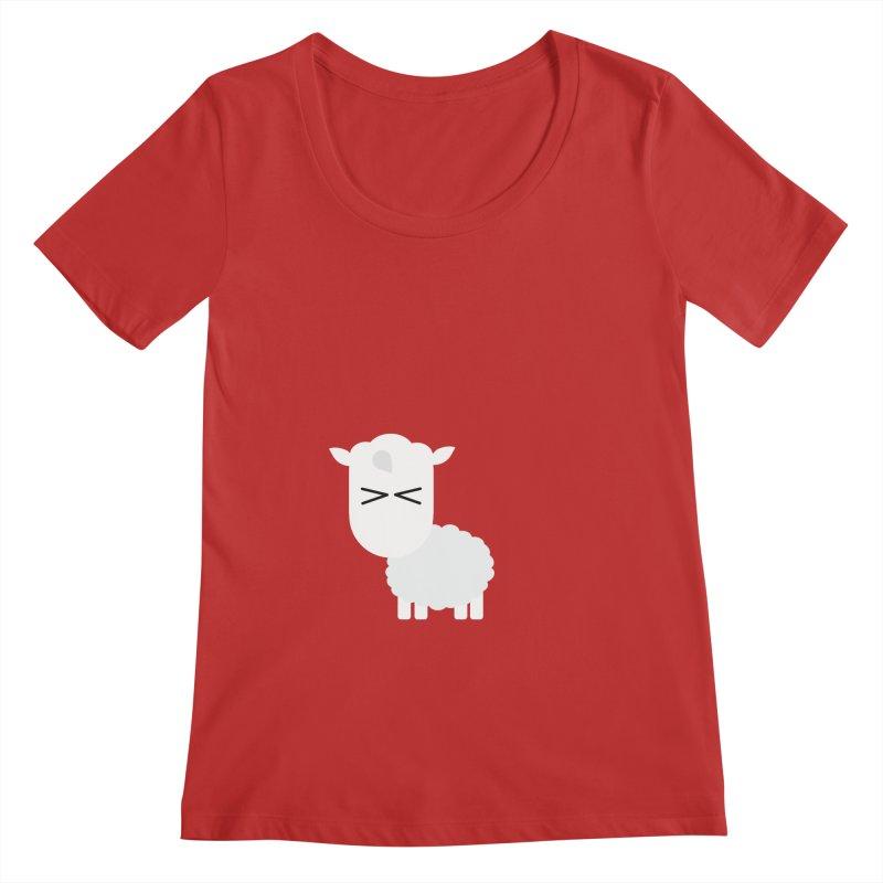 Little lamb Women's Regular Scoop Neck by Yellow Studio · the Shop!