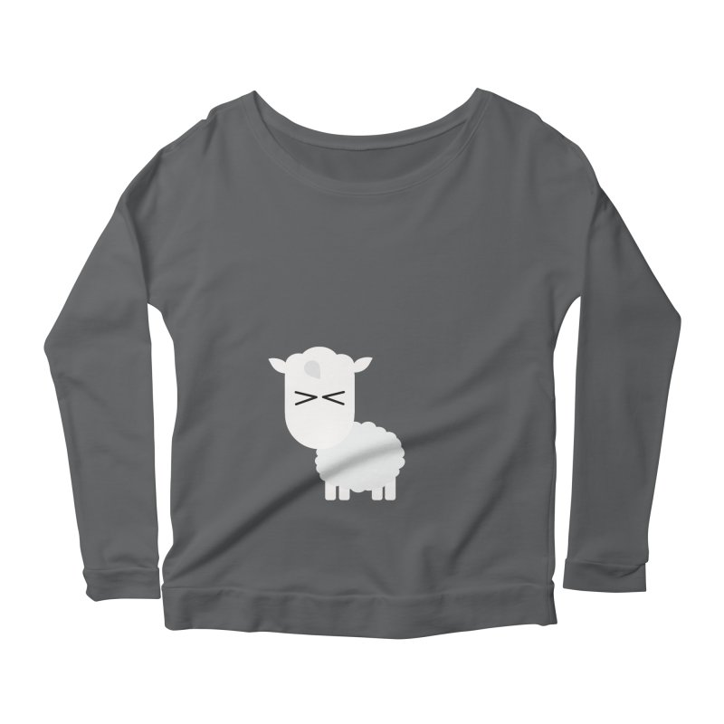 Little lamb Women's Scoop Neck Longsleeve T-Shirt by Yellow Studio · the Shop!