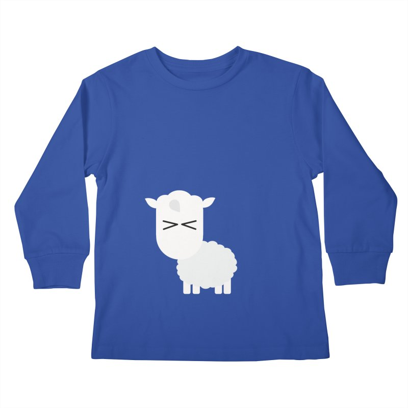 Little lamb Kids Longsleeve T-Shirt by Yellow Studio · the Shop!