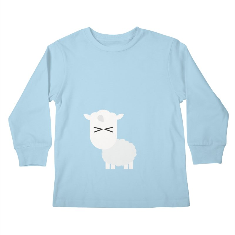 Little lamb Kids Longsleeve T-Shirt by Yellow Studio · the Shop!