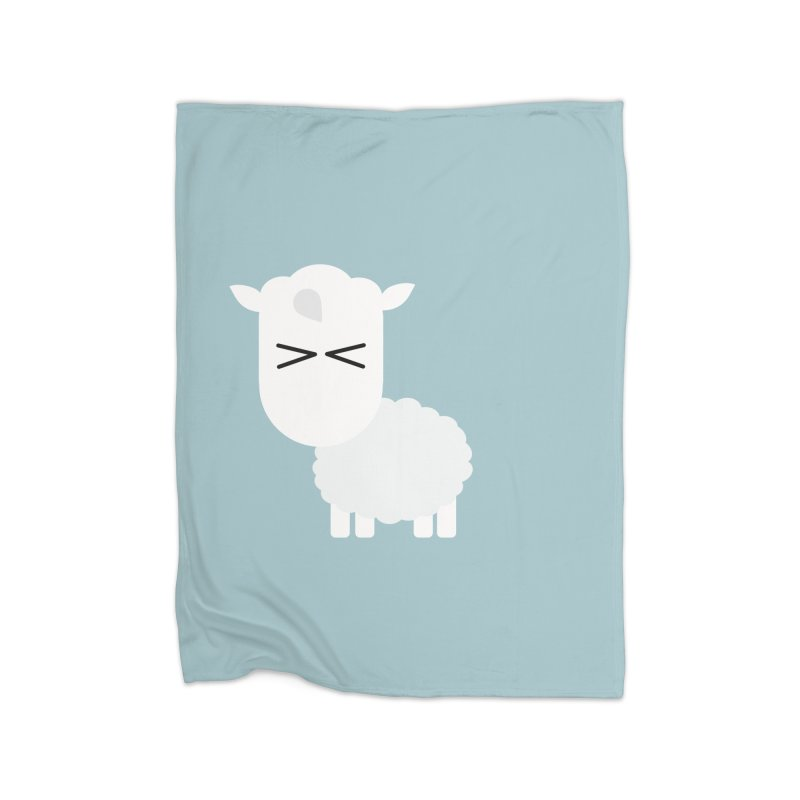 Little lamb Home Fleece Blanket Blanket by Yellow Studio · the Shop!