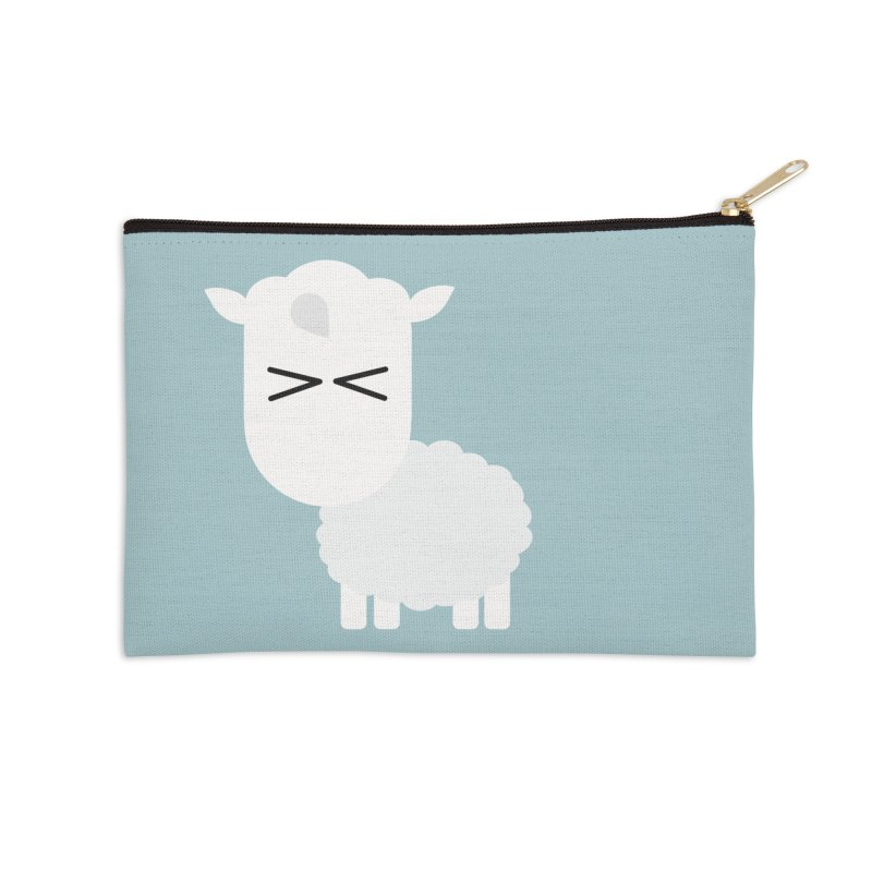 Little lamb Accessories Zip Pouch by Yellow Studio · the Shop!