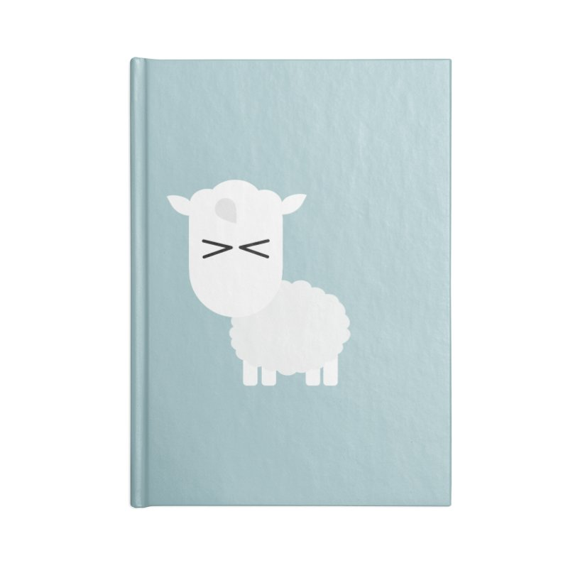 Little lamb Accessories Blank Journal Notebook by Yellow Studio · the Shop!
