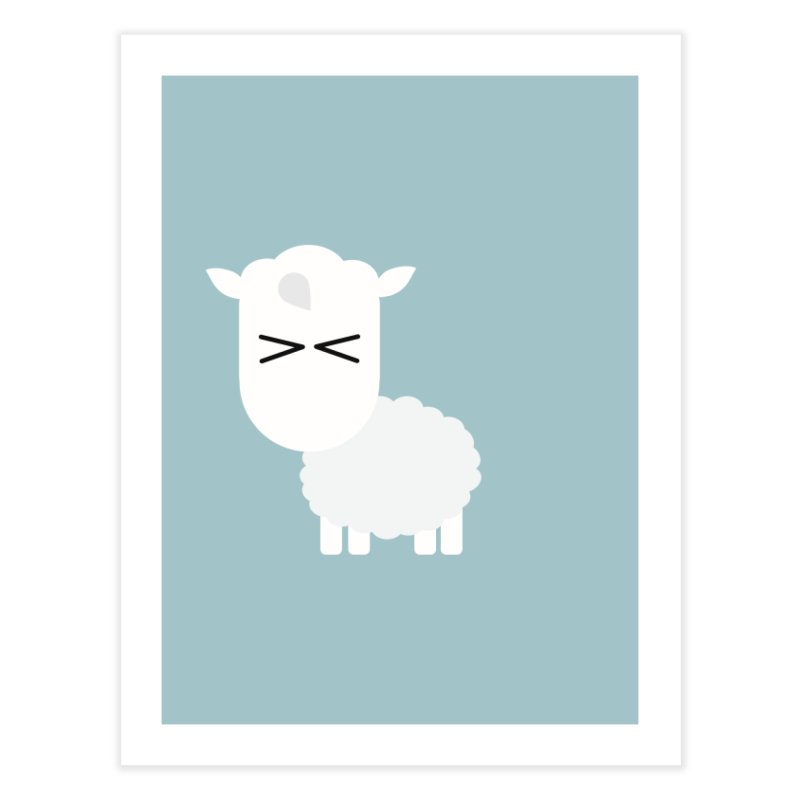 Little lamb Home Fine Art Print by Yellow Studio · the Shop!